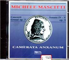 Concerti grossi op.7 - CD Audio di Michele Mascitti