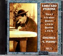 Trio n.2 - Quartetti n.5, n.6 - CD Audio di Lorenzo Perosi