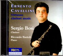 Musica per clarinetto - CD Audio di Ernesto Cavallini