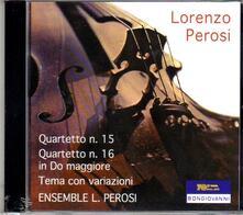 Quartetti - CD Audio di Lorenzo Perosi