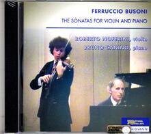 Sonate per violino n.1, n.2 - CD Audio di Ferruccio Busoni