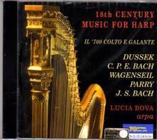 Musica per arpa del Settecento - CD Audio