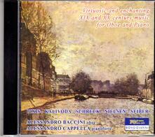 Musica per oboe e pianoforte del XIX e XX secolo - CD Audio di Alessandro Baccini,Alessandro Cappella