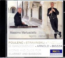 Work and Duos for Clarinet and Bassoon - CD Audio