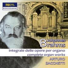 Opere per organo - CD Audio di Johannes Brahms