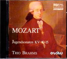 Sonate giovanili - CD Audio di Wolfgang Amadeus Mozart
