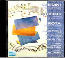 Concerto per archi / Serenata per Andromeda / Musica da concerto per viola ed archi - CD Audio di Nino Rota,Giorgio Federico Ghedini,Gerolamo Arrigo
