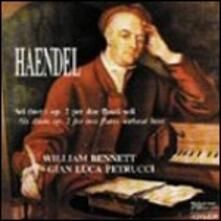 Sei duetti per due flauti op.2 - CD Audio di Georg Friedrich Händel