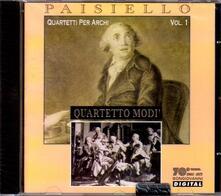 Quartetti per archi - CD Audio di Giovanni Paisiello
