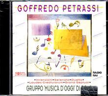 Grand Septuor per clarinetto concertante e 7 strumenti - Serenata per 5 strumenti - Laudes Creaturarum - CD Audio di Goffredo Petrassi