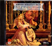 Musica per clavicembalo e viola da gamba - CD Audio di Johann Sebastian Bach