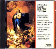 Musiche sacre del Settecento veneto - CD Audio