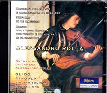 Concerti per violino - CD Audio di Alessandro Rolla