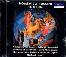 Te Deum - CD Audio di Domenico Puccini