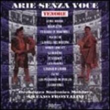 Arie senza voce. Tenore - CD Audio