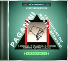 Le Couvent du Mont St. Bernard - CD Audio di Niccolò Paganini,Franco Mezzena