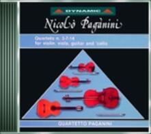 Quartetti completi vol.2 - CD Audio di Niccolò Paganini,Quartetto Paganini