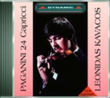 24 Capricci - CD Audio di Niccolò Paganini