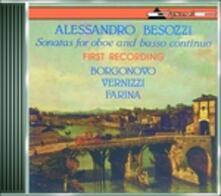 Sonate per oboe e basso continuo - CD Audio di Alessandro Besozzi