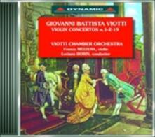 Concerti per violino vol.2 - CD Audio di Giovanni Battista Viotti,Franco Mezzena