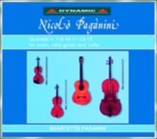 Quartetti completi vol.1 - CD Audio di Niccolò Paganini,Quartetto Paganini