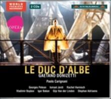 Le Duc d'Albe - CD Audio di Gaetano Donizetti
