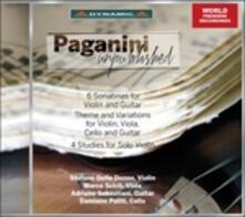 Sonatine per violino e chitarra - CD Audio di Niccolò Paganini