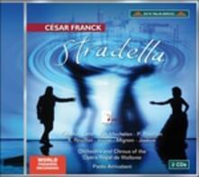 Stradella - CD Audio di César Franck,Paolo Arrivabeni