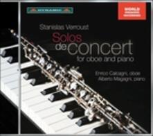 Solos de Concert - CD Audio di Enrico Calcagni,Alberto Magagni