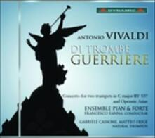 Di trombe guerriere - CD Audio di Antonio Vivaldi