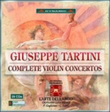 Concerti per Violino Completi - CD Audio di Giuseppe Tartini