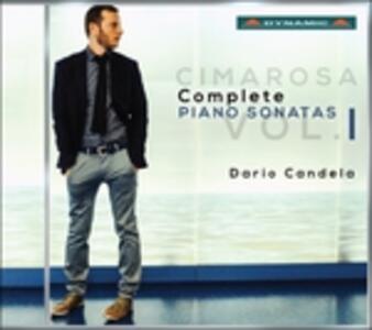 Sonate per pianoforte (Integrale) - CD Audio di Domenico Cimarosa