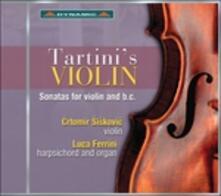 Tartini's Violin - CD Audio di Giuseppe Tartini