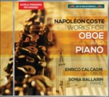 Opere per oboe e pianoforte - CD Audio di Napoleon Coste
