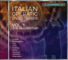 Ouvertures d'opera italiana. XVIII secolo vol.1 - CD Audio