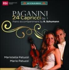 24 Capricci op.1 - CD Audio di Niccolò Paganini