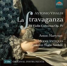 La stravaganza - 12 Concerti per violino - CD Audio di Antonio Vivaldi,Federico Maria Sardelli,Modo Antiquo