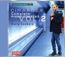 Sonate per Pianoforte vol.2. Sonate Nn.45-88 - CD Audio di Domenico Cimarosa