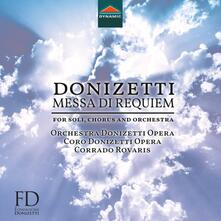 Messa da Requiem - CD Audio di Gaetano Donizetti,Corrado Rovaris