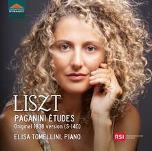 Paganini études. Versione originale S-140, 1838 - CD Audio di Franz Liszt,Elisa Tomellini