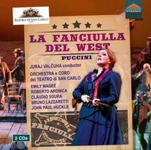 La fanciulla del West - CD Audio di Giacomo Puccini,Juraj Valcuha
