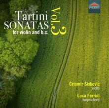 Sonate per violino e basso continuo - CD Audio di Giuseppe Tartini
