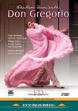 Film Gaetano Donizetti. Don Gregorio (2 DVD) Roberto Recchia
