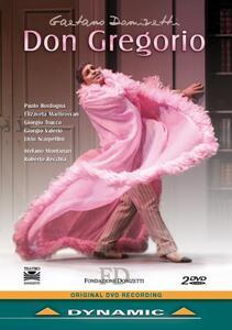 Gaetano Donizetti. Don Gregorio (2 DVD) di Roberto Recchia - DVD