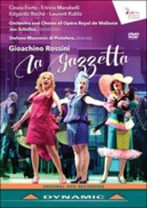 Gioachino Rossini. La Gazzetta - DVD