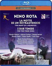 Film La notte di un nevrastenico - I due timidi (Blu-ray)