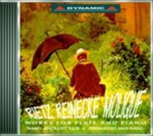Musica per flauto e pianoforte - CD Audio di Carl Heinrich Reinecke,Julius Rietz,Wilhelm Bernhard Molique