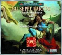 Concerti per violino vol.2 - CD Audio di Giuseppe Tartini,L' Arte dell'Arco,Giovanni Guglielmo