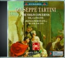 Concerti per violino vol.4 - CD Audio di Giuseppe Tartini,L' Arte dell'Arco,Giovanni Guglielmo