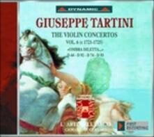 Concerti per violino vol.6 - CD Audio di Giuseppe Tartini,L' Arte dell'Arco,Giovanni Guglielmo